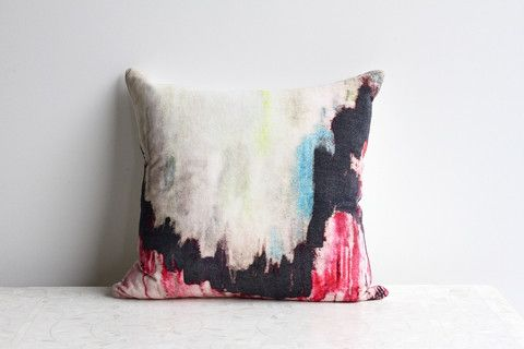 Velvet Art Cushion