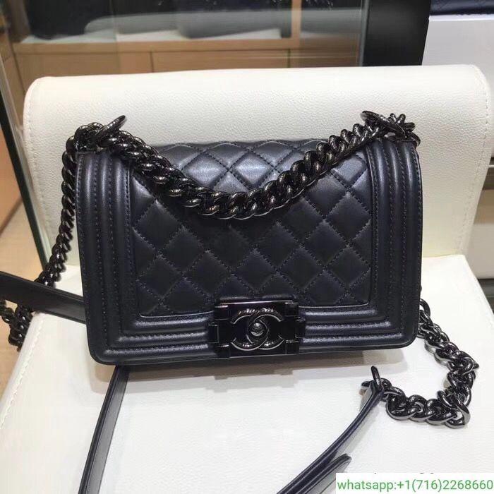 d1dc32d09492 chanel leboy 25cm black hardware leather bag   gucci   Bags, Chanel ...