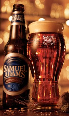 Samuel Adams Boston Lager...a good one for a nice relaxing evening