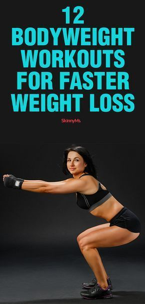 12 Bodyweight Workouts for Faster Weight Loss – #Bodyweight #Faster #loss #weigh…