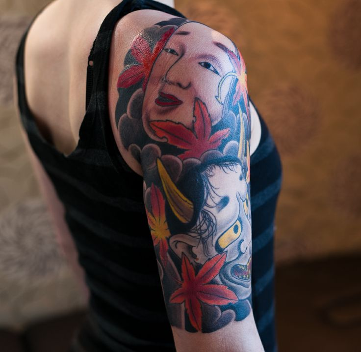 japanese kiku tattoo art | Japanska Tatueringar