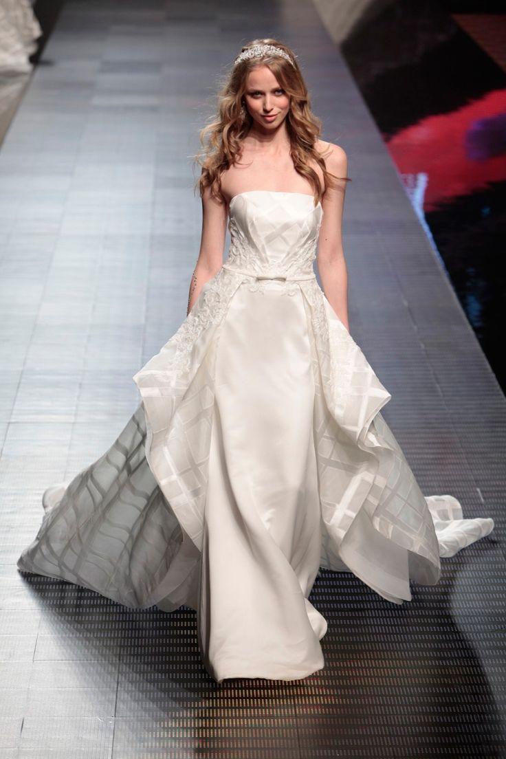 Fashion bride 2016 - Collection ALESSANDRARINAUDOLOOKBOOK. THETIS ARAB16624. Wedding Dress Nicole.