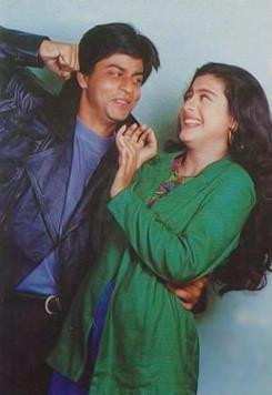 SRK with Kajol. . . .