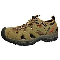Men's Closed Toe Sandal - Tan 10.5