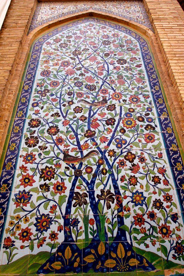 Vakil Mosque - Tree of Life - shiraz - Iran