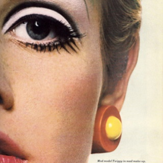 Twiggy Close-Up Mod Make-Up! Xx