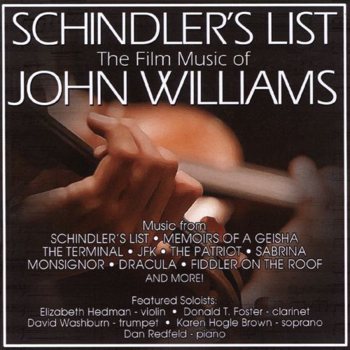 Schindler's List: The Film Music of John Williams [CD]