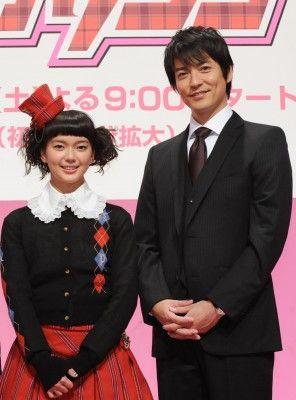 新ドラマ「デカワンコ」の制作発表に登場した多部未華子、沢村一樹(写真左から)