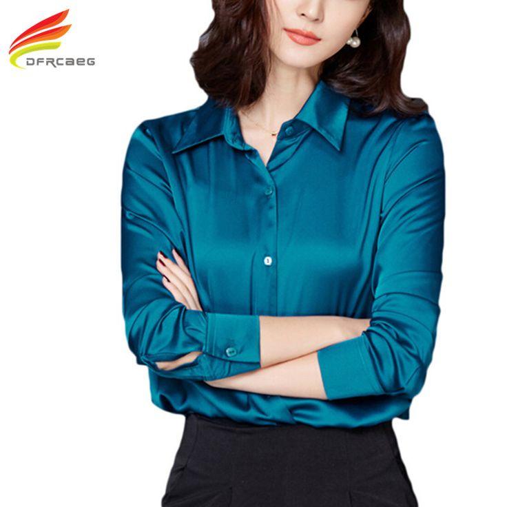 Women Tops New Blouses 2017 Spring Fashion Office Shirts Ladies Plus Size Women Clothing Long Sleeve Blusas feminina 3 Colors