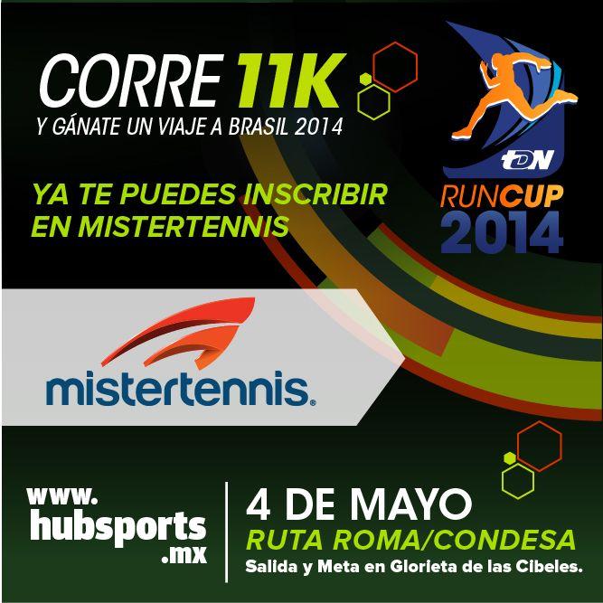 ¡La carrera Run Cup 2014 une a estos dos deportes llevando tu pasión del futbol a tu pasión por correr!  Inscríbete en Mistertennis.