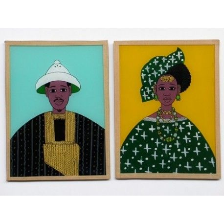 19 best underglass images on Pinterest Africa, Art paintings and