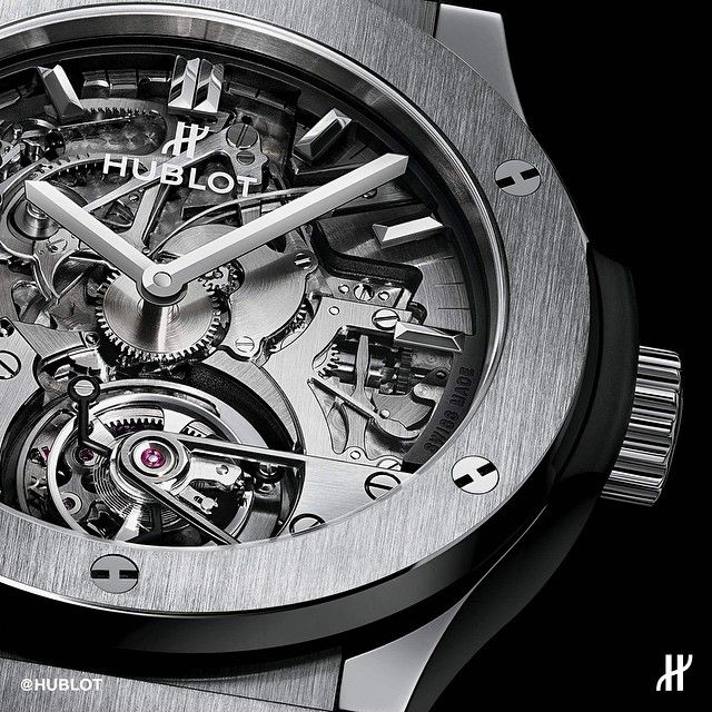 Hublot Skeleton Tourbillion
