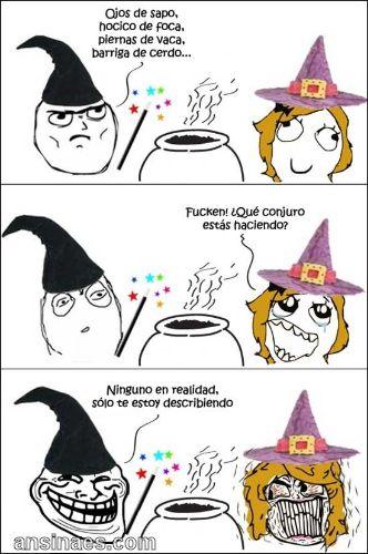 Memes Chistosos - Hechizo de aMor