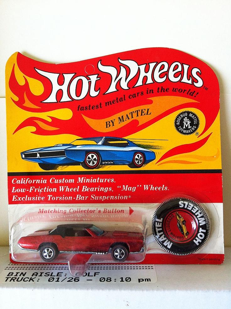 Rare Hot Wheels Red Custom Eldorado BP Rosebud Redline ...