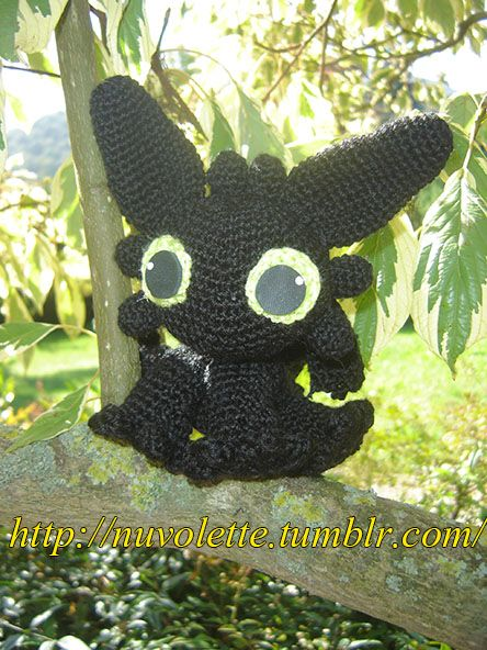 Toothless from Dragon trainer!