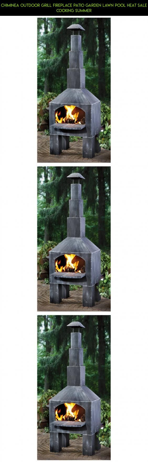 Chiminea Outdoor Grill Fireplace Patio Garden Lawn Pool Heat Sale Cooking Summer #outdoor #kit #products #cooking #plans #chiminea #drone #racing #gadgets #shopping #camera #parts #tech #fpv #technology