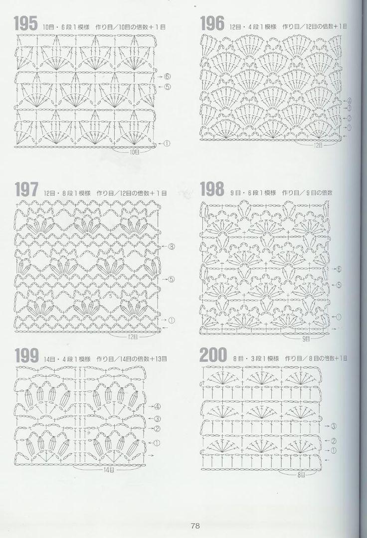 M s de 25 ideas incre bles sobre puntos calados a crochet - Esquema punto estrella crochet ...