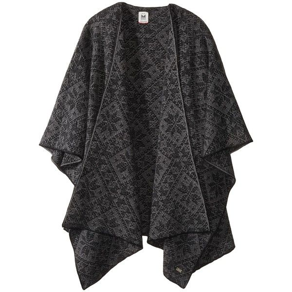 Dale of Norway Rose Shawl (E-Black/Smoke) Women's Sweater (1.290 BRL) ❤ liked on Polyvore featuring accessories, scarves, short scarves, long scarves, long shawl, wrap shawl and wrap scarves