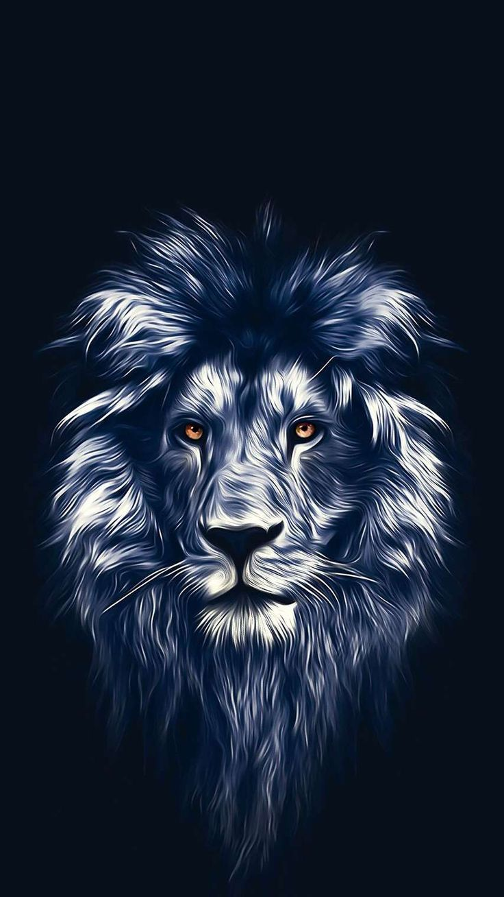 Lion Face Art iPhone Wallpaper Lion wallpaper, Lion