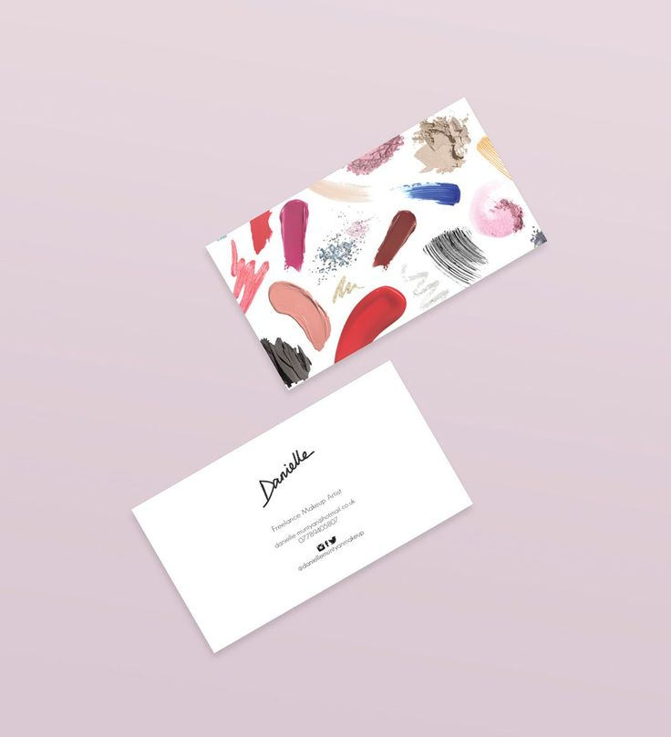 Makeup Business Cards on Pinterest : Makeup artist business cards ...