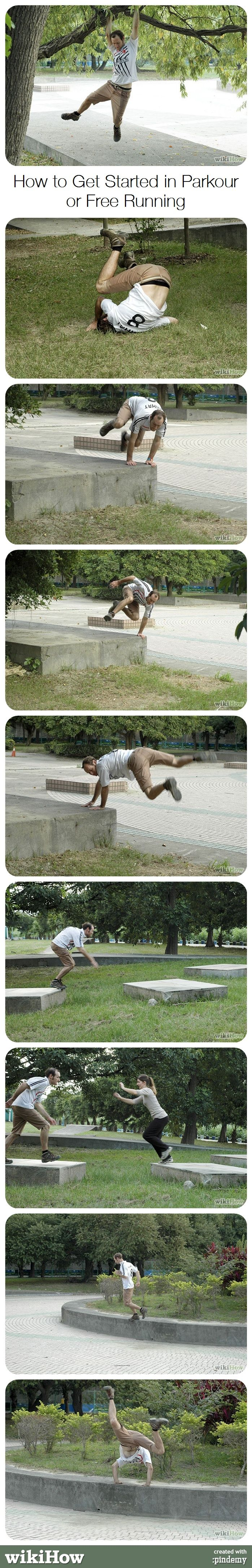 How to Get Started in Parkour or Free Running #sport #philosophy