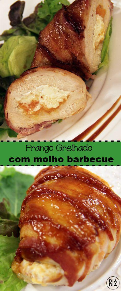 Frango Grelhado Com Molho Barbecue