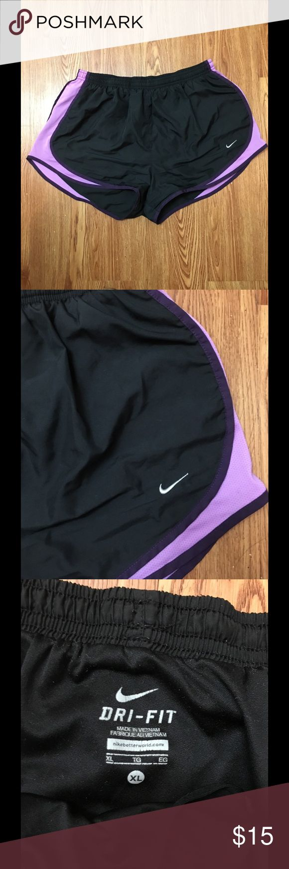 Nike Dri Fit Running Shorts These light weight shorts are perfect for just about everything. They are great for a summer walk, a couple mile jog, or just running around for the day. They have been gently worn, but taken great care of! Just sadly, do not fit me anymore. Nike Shorts