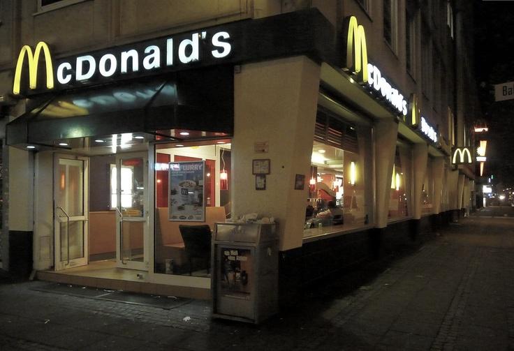 McDonald's in Bremen (Germany).