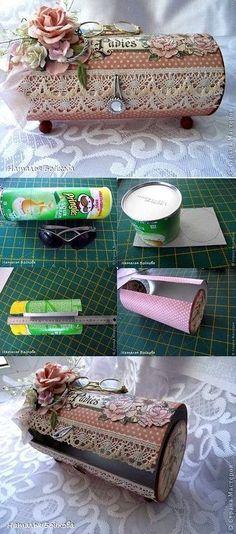 Yaratıcı Projeler: Pringles Kutusu Geri Dönüşüm