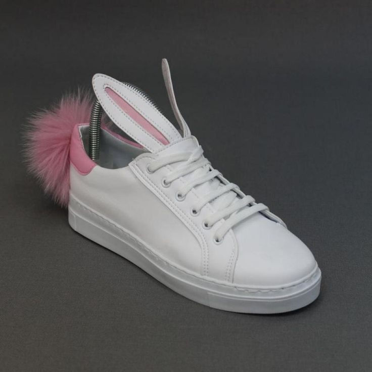 Rabbit Beyaz Pembe Sneakers Code : A56