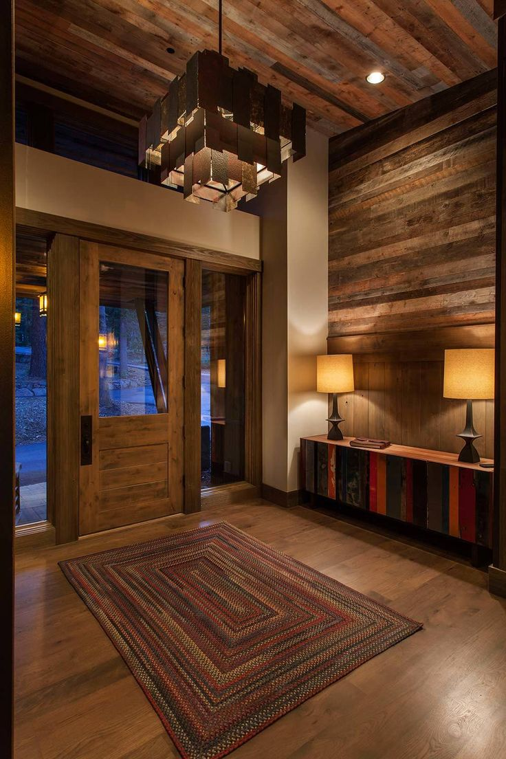 Lake Tahoe getaway features contemporary barn aesthetic