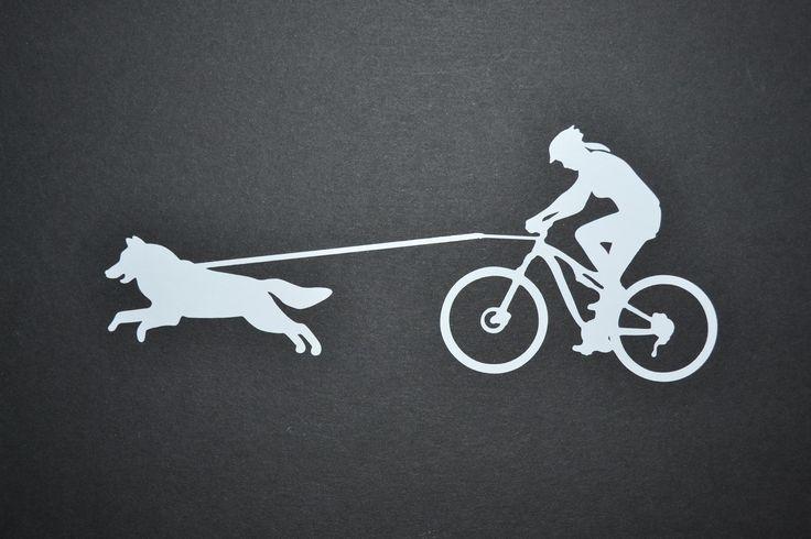 Sticker: Bikejoring Female