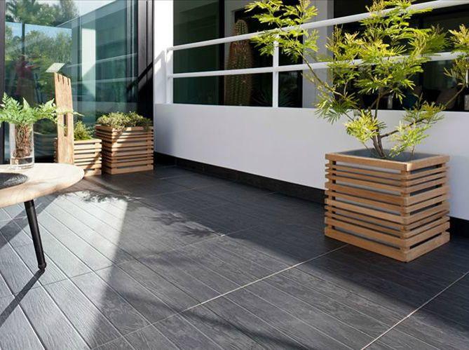 10 best Terrasse carrelages images on Pinterest Bathroom, Decks - pose carrelage terrasse sur dalle beton