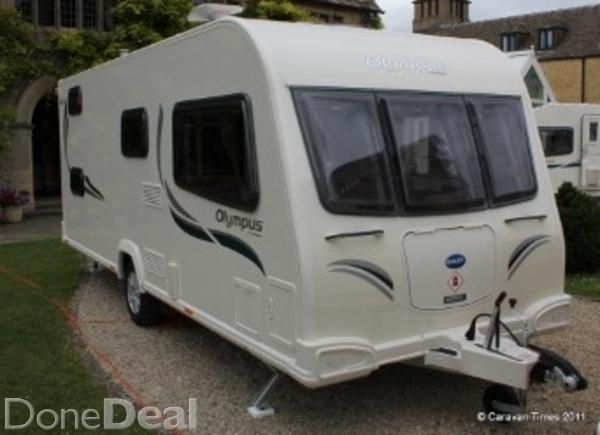 2014 Bailey olympus 620 6 berth Caravan