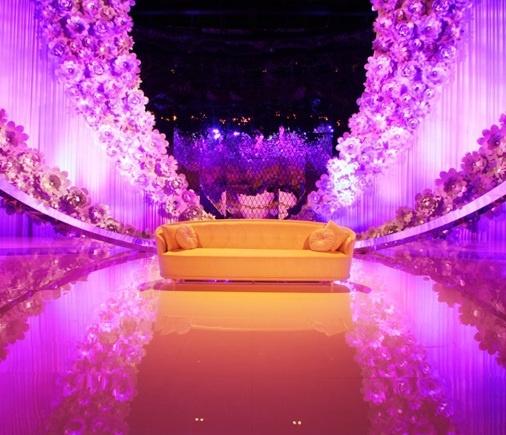 Arabic wedding decoration by design lab wedding for Arab wedding stage decoration