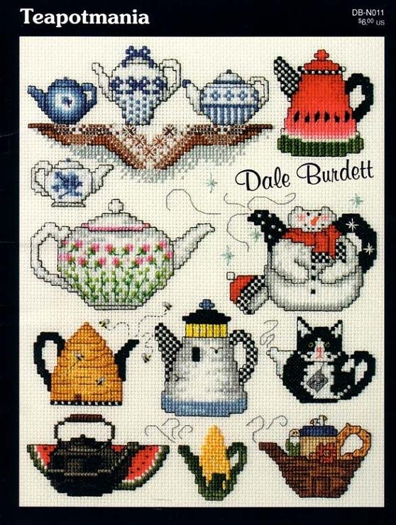 Gallery.ru / Фото #1 - 119 - gipcio  Teapot Mania  free patterns