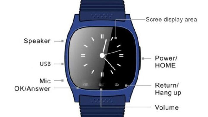 RWATCH M26s Inteligentní sportovní Bluetooth hodinky spánku Správa krokoměr…
