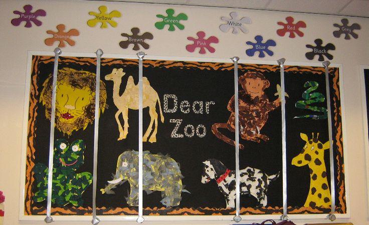 Classroom Zoo Ideas : Dear zoo classroom display photo gallery