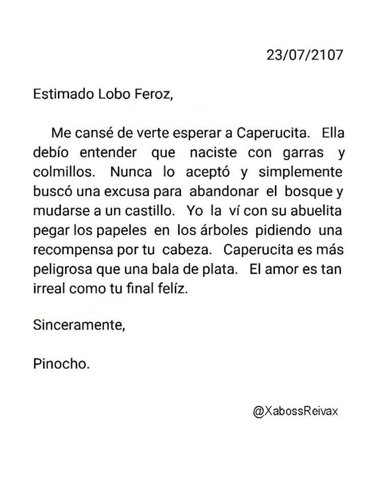 Carta#21   @XabossReivax   #ByXaboss