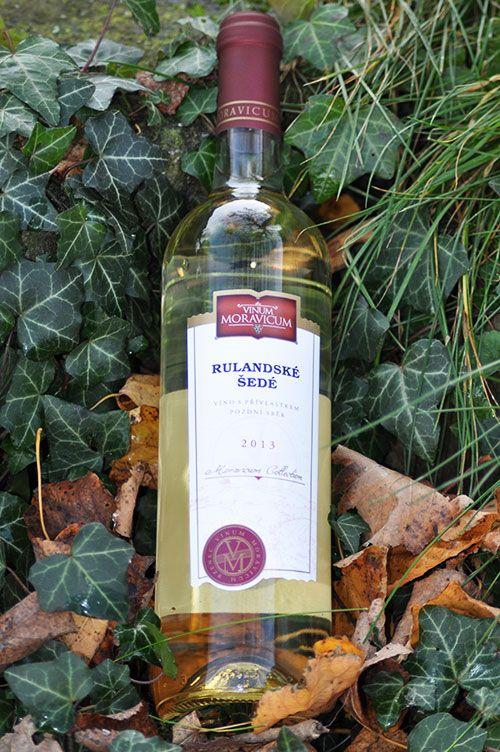 Bílé víno - Rulandské šedé Pozdní sběr - Vinum Moravicum a.s.