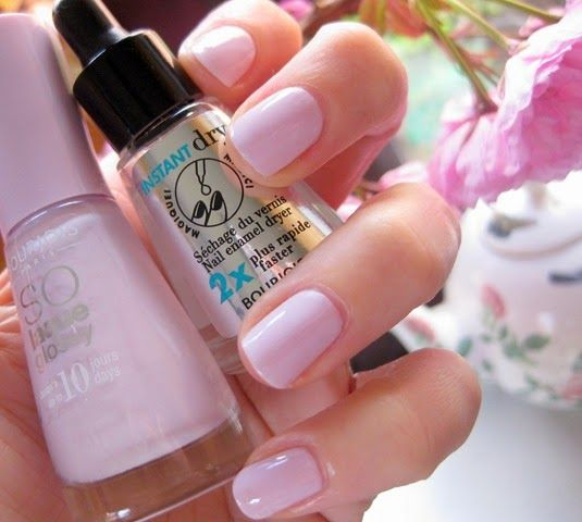 Strawberry Blonde Beauty Blog: Speed Mani: Bourjois Instant Dry Nail Drops