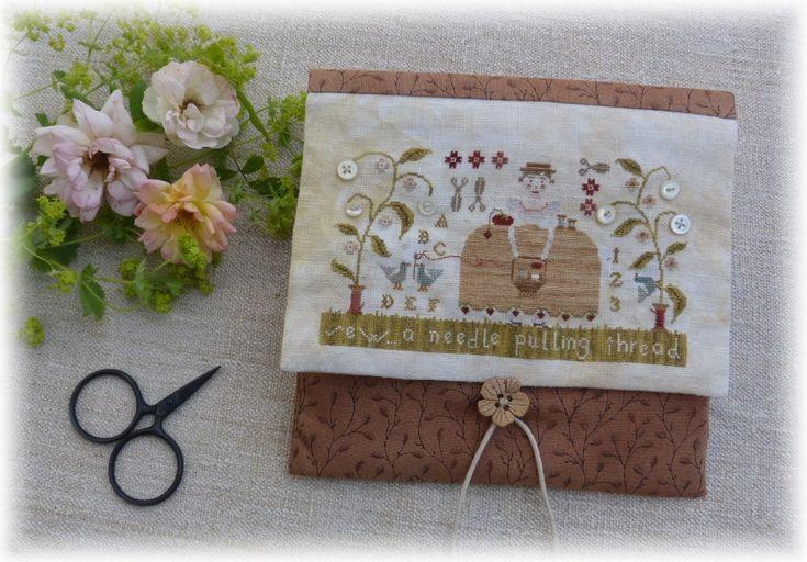 Petits points au jardin xxx: Our story --Needle & Thread