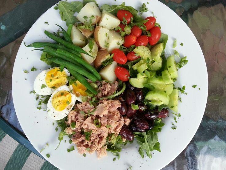 ... | Salads | Pinterest | Nicoise salad, Tuna nicoise salad and Fresh
