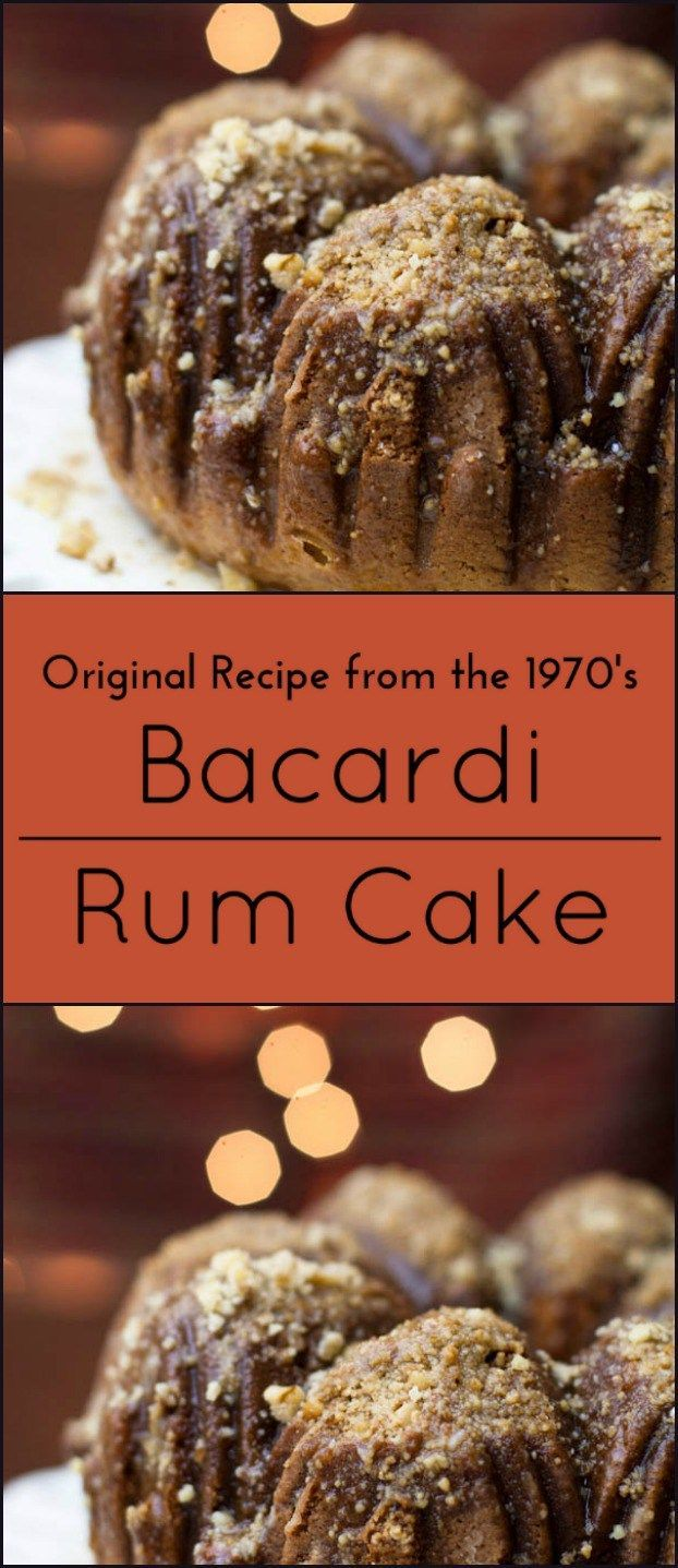 Bacardi Rum Cake (from The Cake Mix Doctor By Ann Byrn)