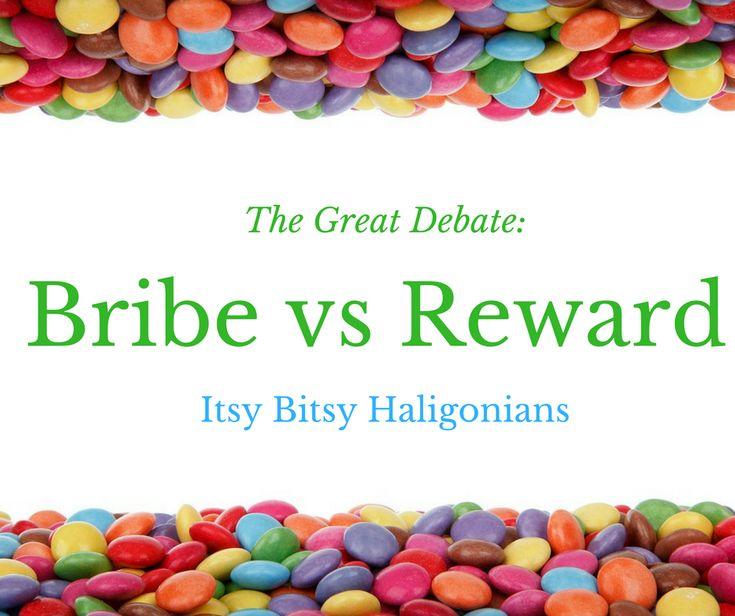 Bribe vs. Reward: The Great Debate —