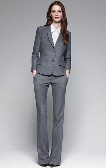 #theory gray suit. #interviewoutfit
