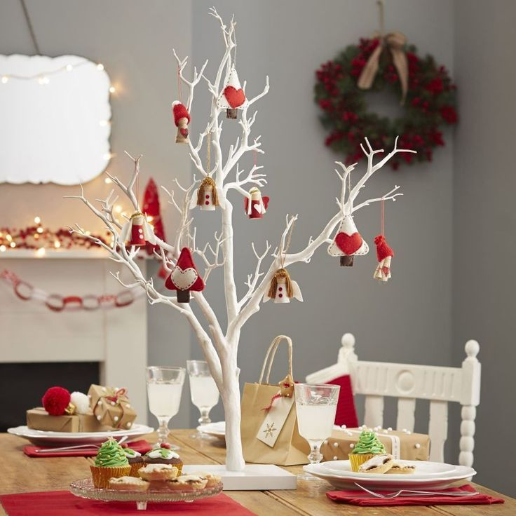Details about twig display wish tree 76cm white decorative for Designer white christmas tree