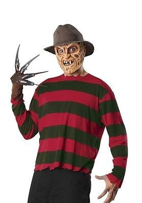 Costumes For All Occasions Ru16587 Freddy Krueger Adult Std. Free Delivery