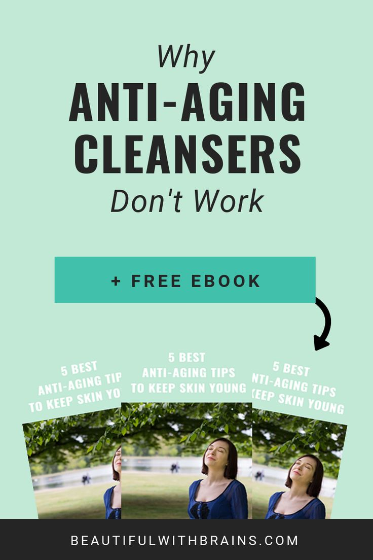 Do Anti-Aging Cleansers Work?