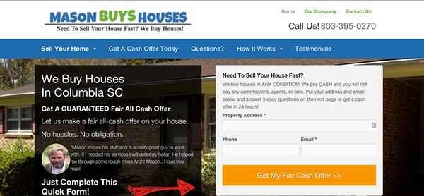 We Buy Houses In Columbia South Carolina on Behance